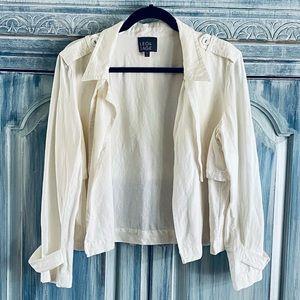 LEO & SAGE Linen Blend Jacket